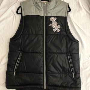 Mitchell Ness White Sox Vest